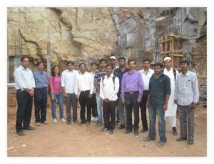 structural-m-tech-students-field-visit