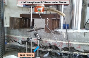Failure Pattern of NSM strengthened RC Beam